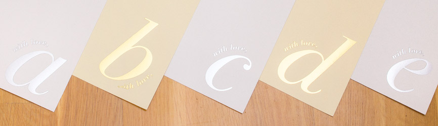 A4 Initialled Letterheads