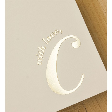 with love, c - A4 letterheads