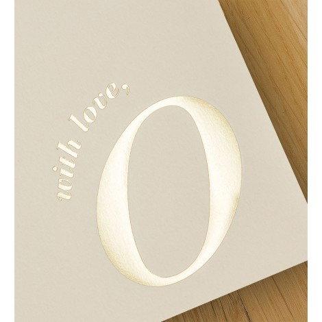 with love, o - A4 letterheads