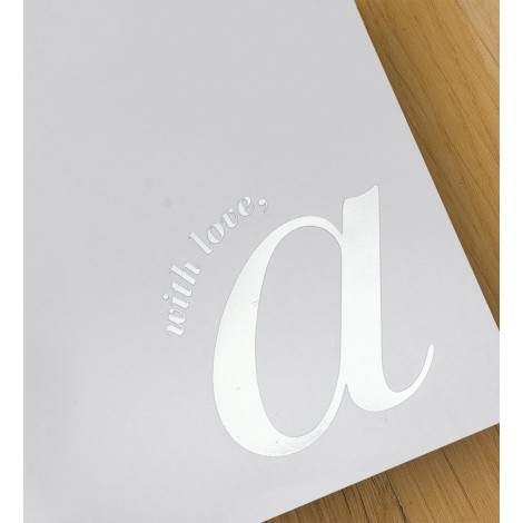 with love, a - A4 letterheads