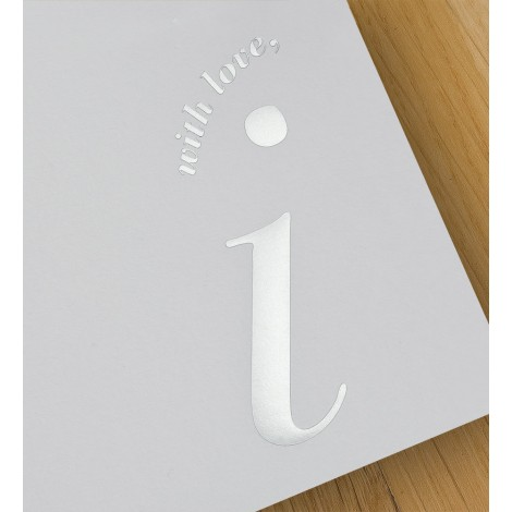 with love, i - A4 letterheads