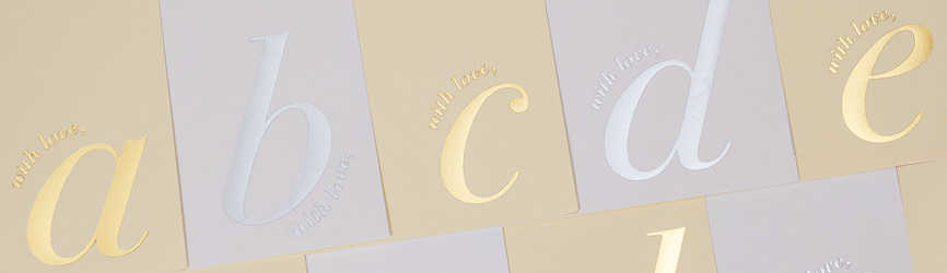 Initialled with Love Stationery